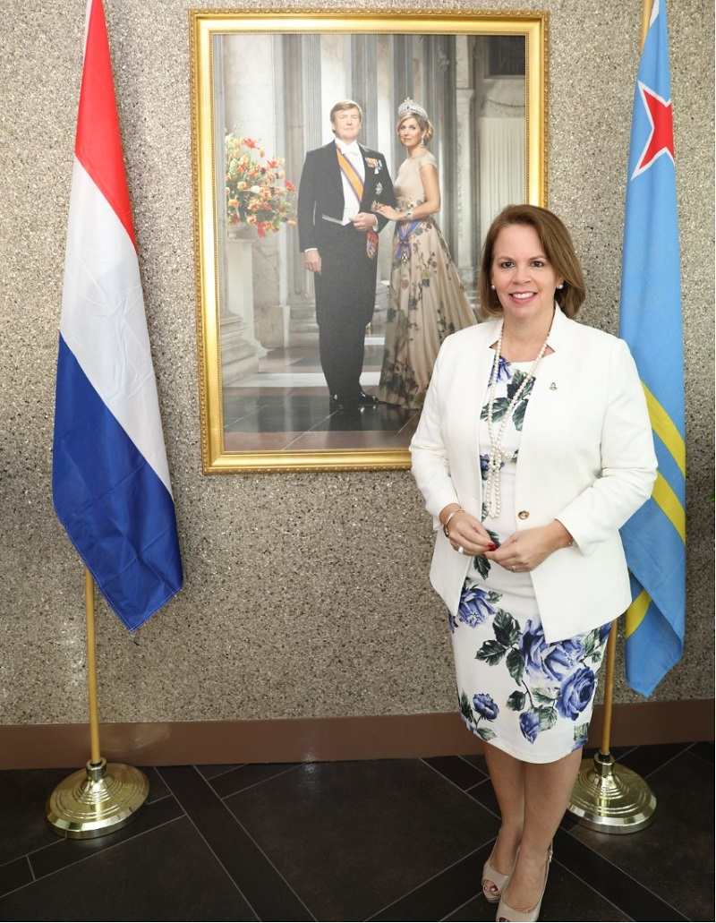 thumbnail Prome Minister Evelyn Wever Croes