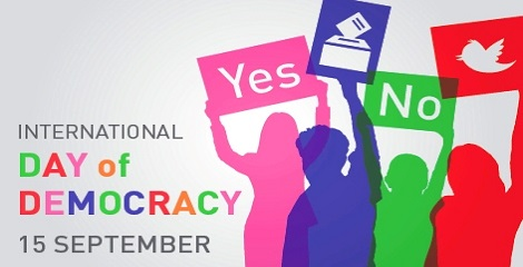 International Day of Democracy 15 September Picture