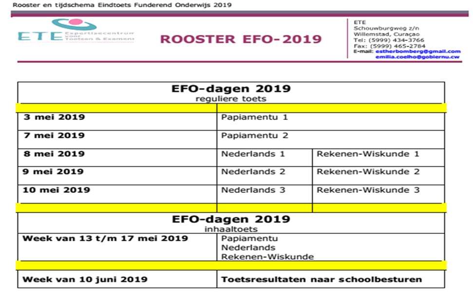 Rooster EFO 2019